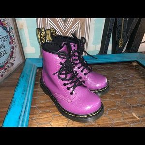 Doc Martin baby girl purple size 7
